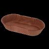 Cuvet CALYPSO ovaal BRUIN Nr 88 105x40x25mm - CCAL88BR