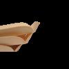 Thermoschaal hout naturel rechthoekig