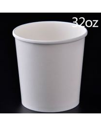 Container karton wit rond 118x131mm 960ml