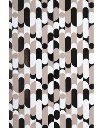 Tricolor geschenkpapier Retro - 50cmx200m