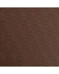Bruin geschenkpapier Retro - 50cmx250m