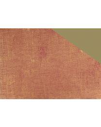Dubbelzijdig roos/goud geschenkpapier Retro - 50cmx250m