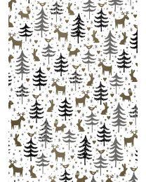 Forest friends geschenkpapier Merry - 691878/4