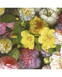 Geschenkpapier barok flower K 601836- 40cmx200m - F60183640