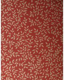 Oranje geschenkpapier blaadjes kraft - 1876 3813