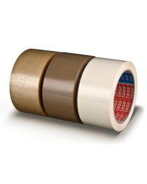Tesa 4124/PVC tape - 65 mc - 50 mm x 66 m - trans. TE4124-11 (per doos)