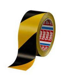 Tesa 60760 - 50 mm x 33 m - geel/zwart - EAN Marking-TE60760-01