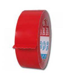 Tesa 60404/PVC tape - 67 mc - 50 mm x 66 m - rood
