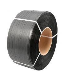 PP omsnoeringsband 12mmx0,63mmx2250m kern 200 zwart