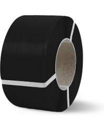 PP omsnoeringsband - 9 mm x 0,55 mm x 4500 m - kern 200- zwart