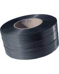PP omsnoeringsband - 15,5 mm x 0,8 mm x 1400 m - kern 406- zwart