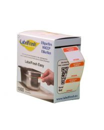 LABELFRESH etiketten EASY 30x25mm ZATERDAG-SAMEDI - LFEASYZASA