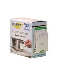 LABELFRESH etiketten PRO 70x45mm VRIJDAG-VENDREDI - LFPROVRVE
