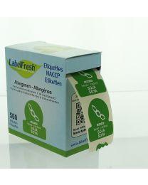LabelFresh etiketten-30x30mm-ALLERGENEN - SOJA - LFALLERGSOJA