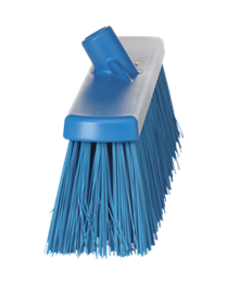 Vikan Straatborstel, polyester vezels, hard 177x69x470mm, blauw 2920/3