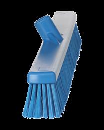 Vikan Veegborstel, polyester vezels, zacht en hard 135x45x590mm, blauw 3194/3