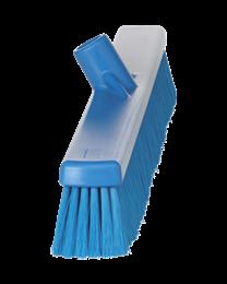 Veegborstel, Polyester vezels, zacht 130x45x590mm, blauw 3199/3
