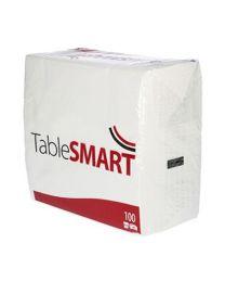 Servetten Tablesmart WIT 3lgs 40x40cm