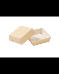 Bakvorm rechthoekig EASY BAKE BEIGE 80x80x25mm - EASYBAKE808025B