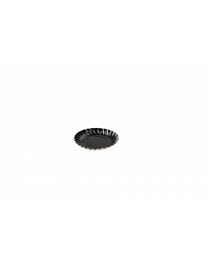 Kartonnen Bord ZWART rond A8 90mm - ZWBA8