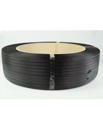 PP omsnoeringsband 12,7 mm x 0,75 mm x 2000 m - kern 406 - zwart - OM1258