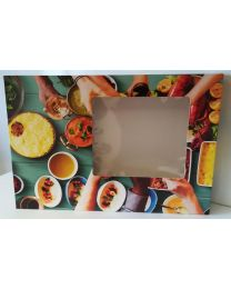 Cateringdozen 46x31x8cm HANDS medium model - CWMHANDS