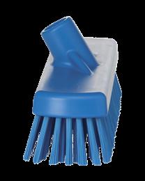 Vikan Schuurborstel, Polyester vezels, hard 115x70x300mm, blauw 7060/3, 16 stuks
