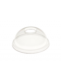 DEKSEL PET DOME TRANSP diam 95mm open - 475851