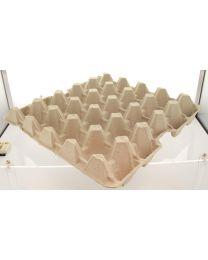 Eiverpakking pulp tray 25 lbs grijs voor 20 eieren - L25