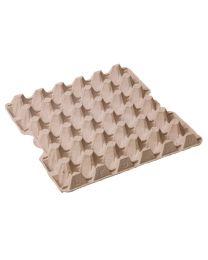 Eiverpakking pulp tray 20 M grijs voor 30 eieren - L20