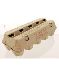 Eiverpakking pulp VISI 1x10 grijs + druk STD BELGIË - LSG110