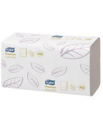 Tork Extra Soft Singlefold Hand Towel 22x23cm - H3 PREMIUM - TORK100278