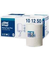 Tork Wiping Paper Plus Centerfeed Roll 25cmx160m (457 vel) - M2 - TORK101250