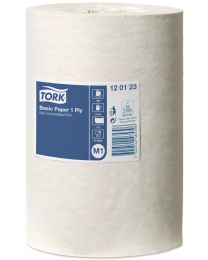 Tork Basis Paper Mini Centerfeed Roll 22cmx120m - M1 - 1 laags - TORK120123
