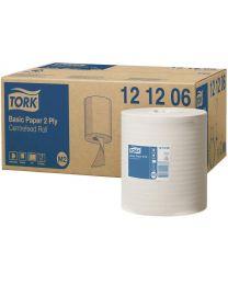 Tork Basic Paper Centerfeed Roll 20cmx160m (457 vel) - M2 - 2 laags - TORK121206