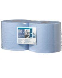 Tork Wiping Paper Plus Combi Roll Blue 24cmx255m (750 vel) - W1/W2 - TORK130052