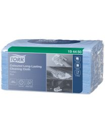 Tork Coloured Long-Lasting Cloth BLAUW W8- 38x30cm/40  - TORK194450