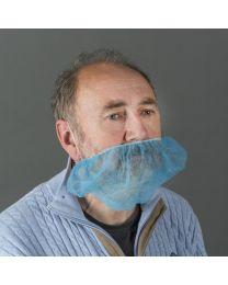 Non-woven baardmasker blauw