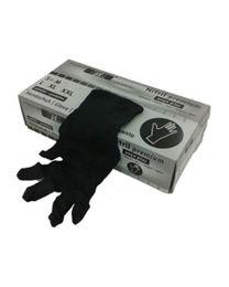 Handschoenen NITRIL ZWART EXTRA LARGE Niet-Gepoederd (10x100) - HANDNITNPLZ