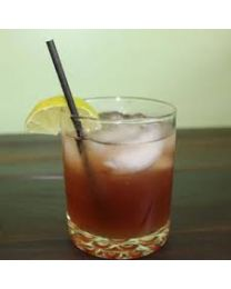 Rietjes Recht papier ZWART Cocktail 15cm/7,2mm