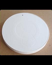 Deksel karton wit Ø 90 mm voor 350ml beker