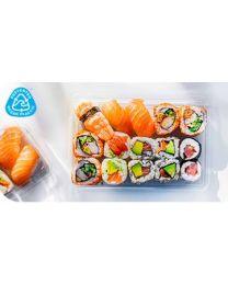 Desipack Sushi tray transparant 140x60 mm