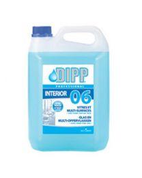 DIPP N°06 - GLAS EN SPIEGEL REINIGER 5L VULLING