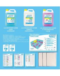 DIPP KEUKEN MINI-PACK + HYGIENE PLAN HACCP - FR 1stuk (7101)