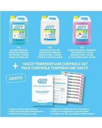 DIPP KIT ESSENTIELE HYGIENE + HACCP TEMPERATUUR CONTROLE SET 1 stuk (7300)