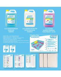 DIPP KEUKEN MINI-PACK + HYGIENE PLAN HACCP - NL 1 stuk (7100)