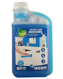 Polgreen Odor Line Interieur, geconcentreed oppervlakte reiniger, 6x1L