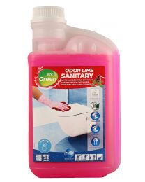 Polgreen Odor Line Sanitary, Geconcentreerd sanitairreinger, 6x1L