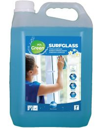 Polgreen Surfglass, Glas en oppervlakte reiniger,2x5L