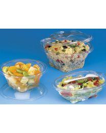 Saladeverp SEKIPACK rond afscheurbaar scharnierdeksel
